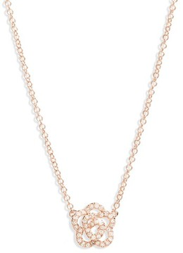Ef Collection Women's Diamond Pendant Necklace
