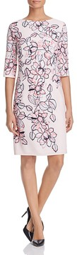 Basler Floral Print Shift Dress
