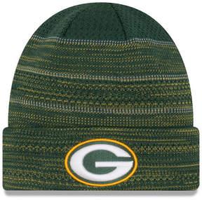 New Era Green Bay Packers Touchdown Cuff Knit Hat