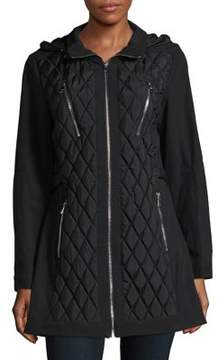 1 Madison Long-Sleeve Quilted Jacket