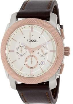 Fossil Machine FS5040 White Dial Watch