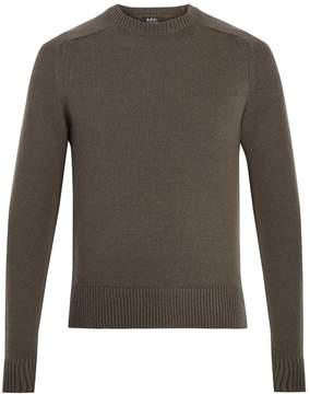 A.P.C. Jon wool-blend sweater