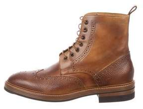 Paul Smith Raven Brogue Boots w/ Tags