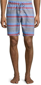 Hanro Evan Striped Drawstring Shorts, Multicolor