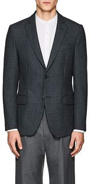 Officine Generale MEN'S HOUNDSTOOTH WOOL TWO-BUTTON SPORTCOAT