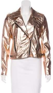 Blank NYC Metallic Moto Jacket