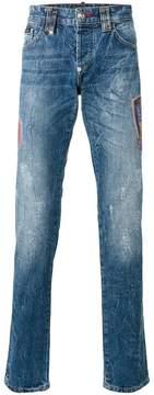 Philipp Plein Flame straight-leg jeans