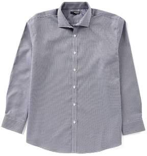 Murano Liquid Luxury Long Sleeve Spread Triangles Shirt