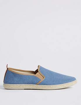 Marks and Spencer Canvas Espadrille Shoes