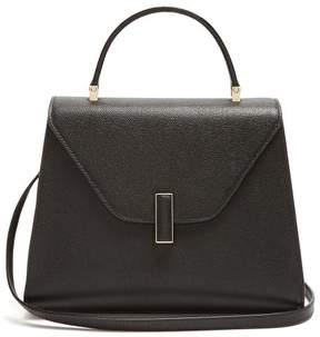 Valextra Iside Medium Grained Leather Bag - Womens - Black