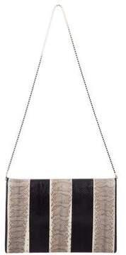 Roberto Cavalli Snakeskin Shoulder Bag