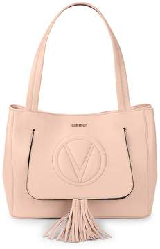 Mario Valentino Valentino by Women's Estle Logo Leather Shoulder Bag