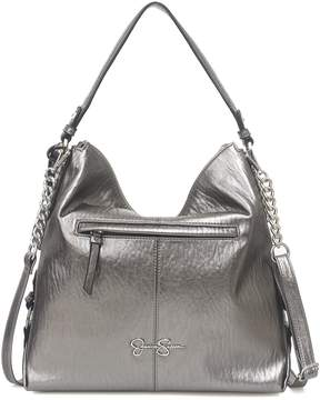 Jessica Simpson Ryanne Metallic Hobo Bag