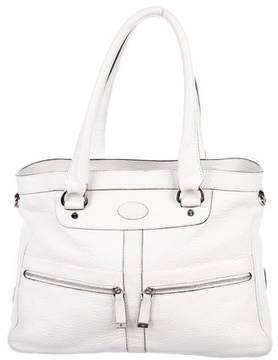 Tod's Grained Leather Shoulder Bag