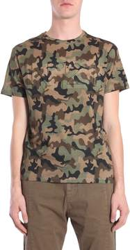 N°21 Camouflage Printed T-shirt