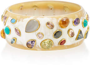 Ashley Pittman Urujuani Horn Multi-Stone Bangle