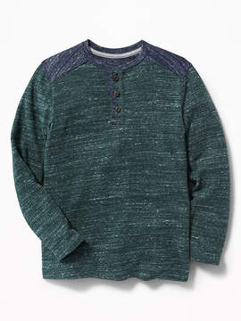Old Navy Color-Blocked Sweater-Knit Henley for Boys