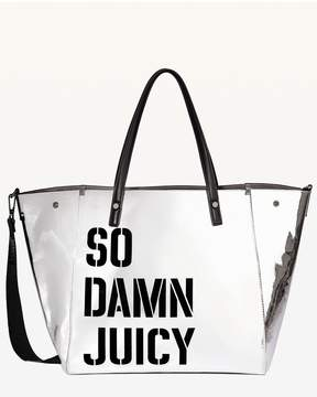 Juicy Couture JXJC Mirror Metallic Arlington Tote
