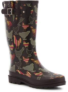 Western Chief Women's Patterned Poultry Rain Boot