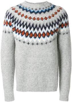 Norse Projects Fair Isle knitted sweater