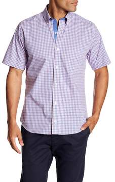 Tailorbyrd Regular Fit Short Sleeve Casual Button Down Shirt