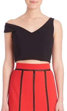 ABS by Allen Schwartz One-Shoulder Cropped Top