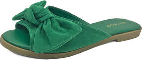 Bamboo Green Hippie Slide - Women
