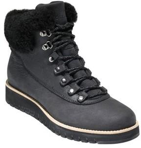 Cole Haan Women's Grandexpl?re Genuine Shearling Trim Waterproof Hiker Boot