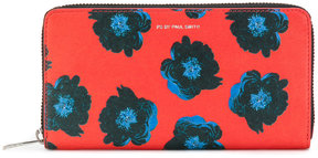 Ps By Paul Smith floral zip wallet