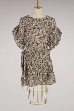 Etoile Isabel Marant Linen Delicia dress