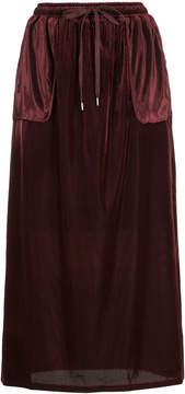 CITYSHOP long drawstring skirt
