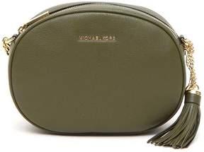 MICHAEL Michael Kors Ginny Shoulder Bag - OLIVE - STYLE