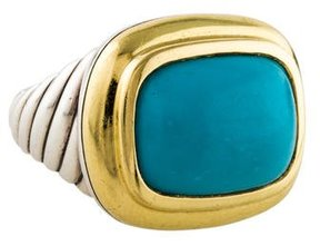 David Yurman Turquoise Waverly Ring