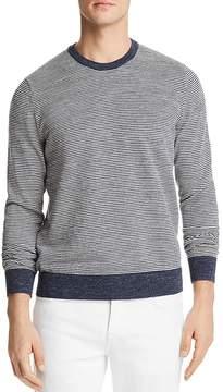 Bloomingdale's The Men's Store at Mini-Stripe Crewneck Sweatshirt - 100% Exclusive