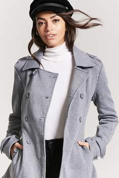 Forever 21 Belted Double-Breasted Trench Coat