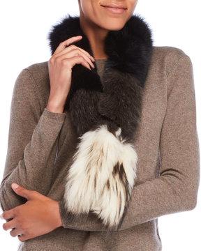Yves Salomon Real Fur Scarf