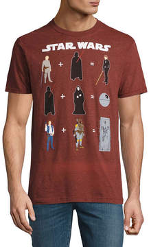 Star Wars Novelty T-Shirts Equations Graphic Tee