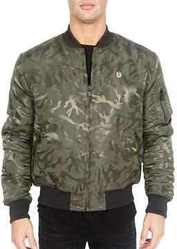 Cult of Individuality Men's Reversible Bomber Jacket