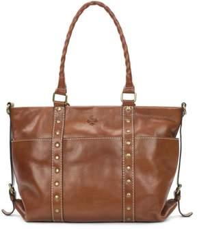 Patricia Nash Carducci Leather Pocket Tote