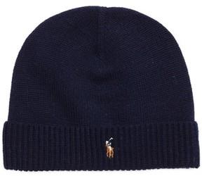 Polo Ralph Lauren Classic Wool Beanie - Blue
