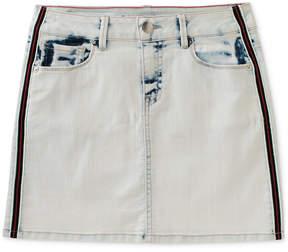 Calvin Klein Side Tape Denim Skirt, Big Girls