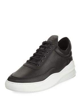 Filling Pieces Sky Low-Top Leather Sneaker