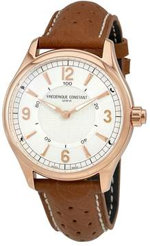 Frederique Constant Horological Silver Dial Men's Smart Watch