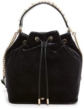 Juicy Couture Velvet Wilshire Woodlands Bucket Bag