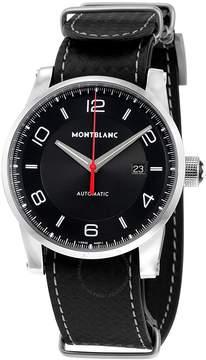 Montblanc Timewalker Urban Speed UTC E-Strap Black Dial Automatic Men's Watch