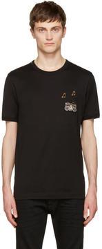 Dolce & Gabbana Black Boombox T-Shirt