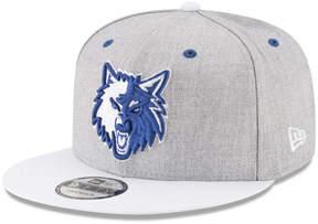 New Era Minnesota Timberwolves White Vize 9FIFTY Snapback Cap