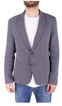 Trussardi Men's Grey Wool Blazer.