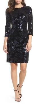 Eliza J Women's Sequin Embellished Sheath Dress