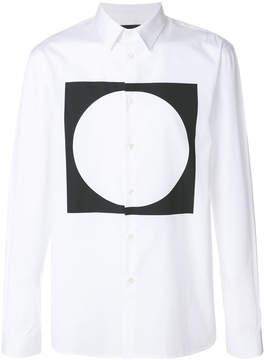 Diesel Black Gold contrast print shirt